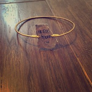 """Bless Your Heart"" Bracelet"